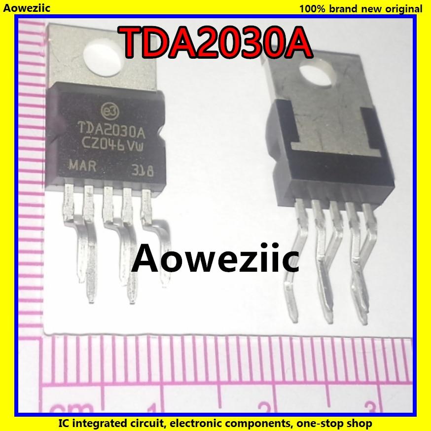 10PCS TDA2030AV TDA2030A TDA2030 18W Hi-Fi Amplifier 35W Driver