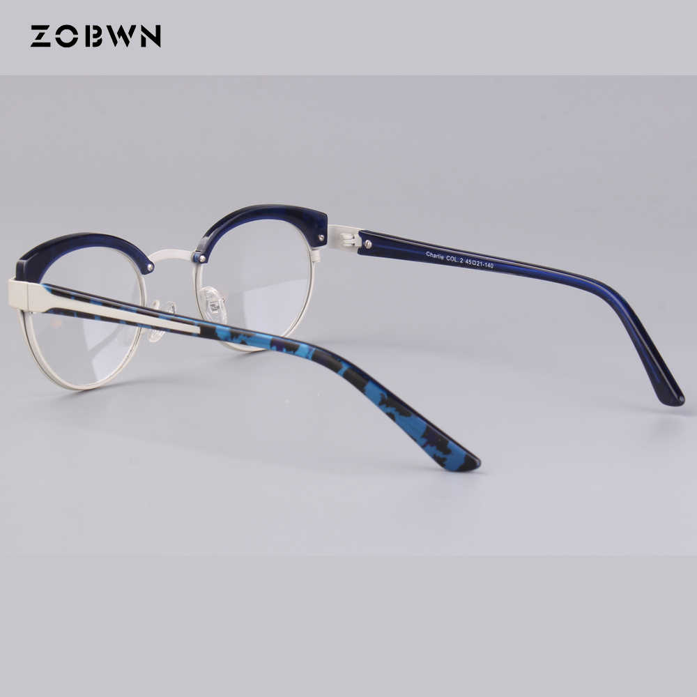 aa617e6e8fb6 ... wholesale round children eyeglasses metal mixed acetate green Goggles  Reading Glasses UV400 cat eye kids harry ...