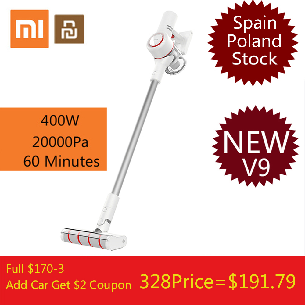 free duty 2019 xiaomi dreame v9 vacuum cleaner jimmy jv51 wireless handheld cordless stick. Black Bedroom Furniture Sets. Home Design Ideas