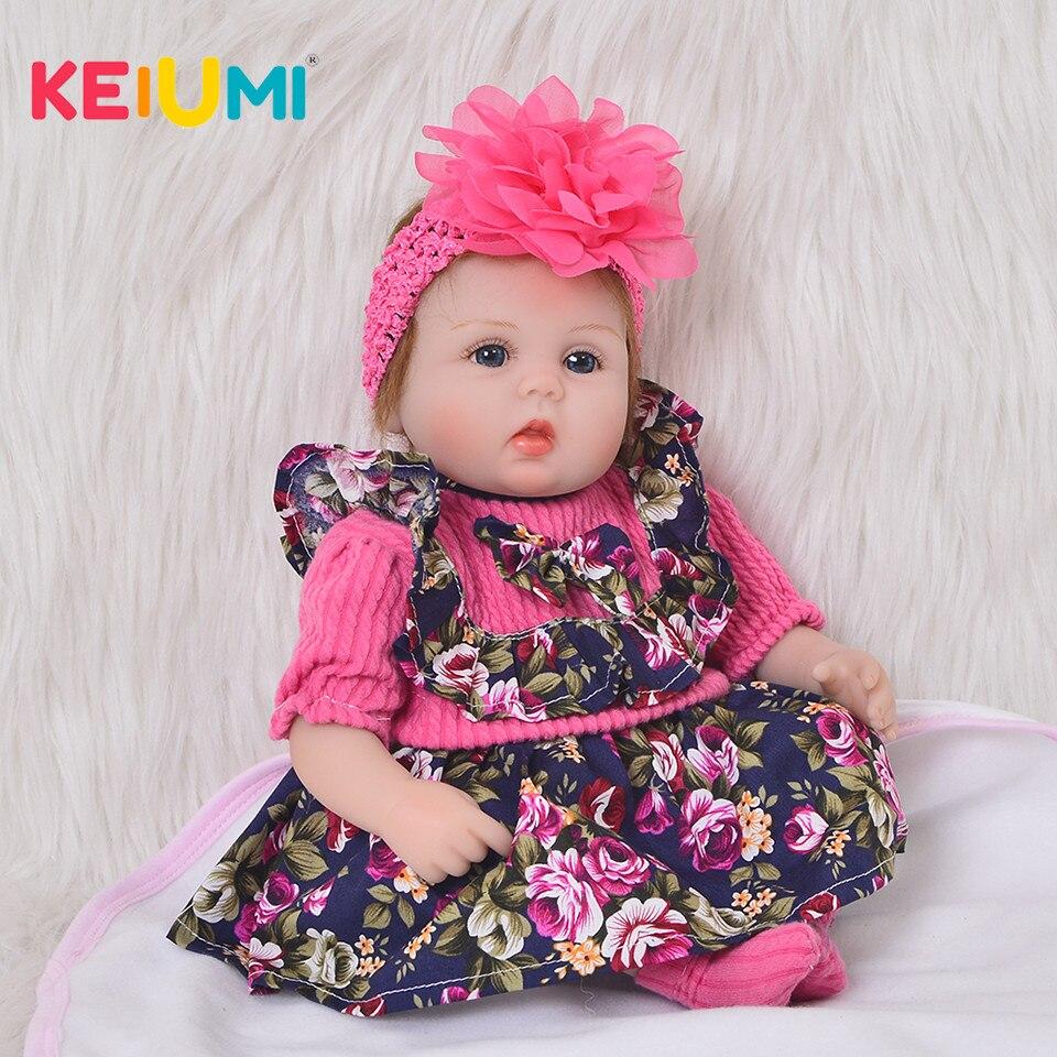 Fashion Princess Doll Toy 17 inch Reborn Baby Dolls Soft Silicone Baby Girl 43 cm Limited
