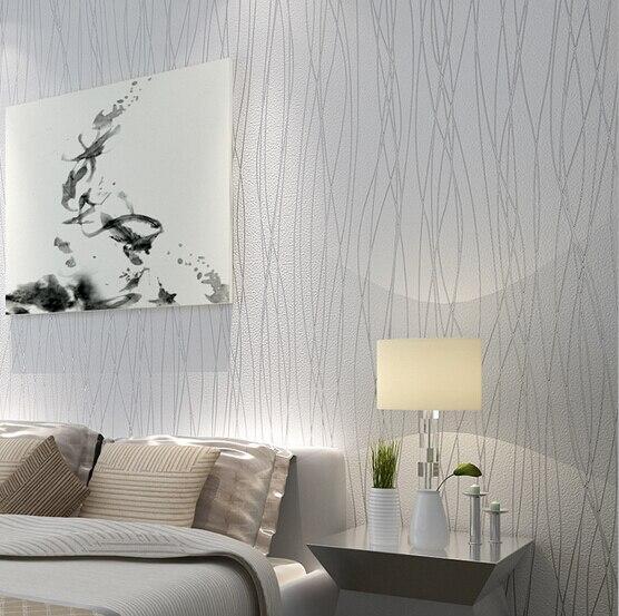 2015 Neue Moderne Elegante Streifen Schlafzimmer Vlies Silber Glitter  Tapete TV Wandpapierwandbild Wallpapers Heimtextilien QZ0029 In 2015 Neue  Moderne ...