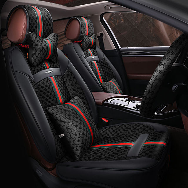 Awesome 6D Styling Sport Car Seat Cover General Cushion For BMW 3 4 5 6 7 SeriesGT