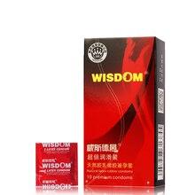 10 PCS Multifunction Ultra-thin high-capacity super toughness latex condoms XL Men Sex Tools product supplies delay sex couples