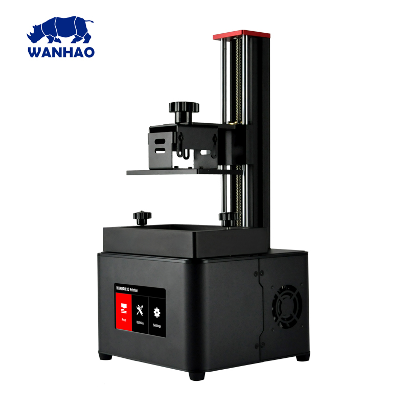Wanhao D7 plus uv flatbed 3D printer machine liquid photopolymer resin for sla 3d printer for school home datel and jewelry use green uv 405nm photopolymer resin 1000 ml for wanhao duplicator 7 d7 lcd sla 3d printer