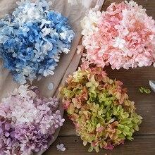 Гортензия оптом вечная жизнь цветок Diy Материал посылка стеклянная крышка сделать лепесток головной убор свечи делая поставки velas de cera