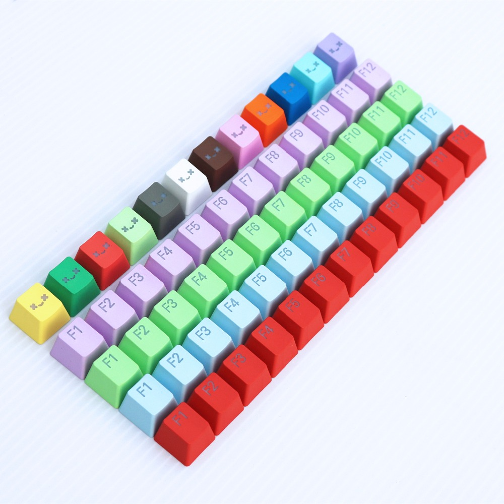 OEM PBT Keycap cherry MX Switch R4 height Double shot backlit For MX Mechanical Keyboard Ergo Filco Leopold Noppoo Planck