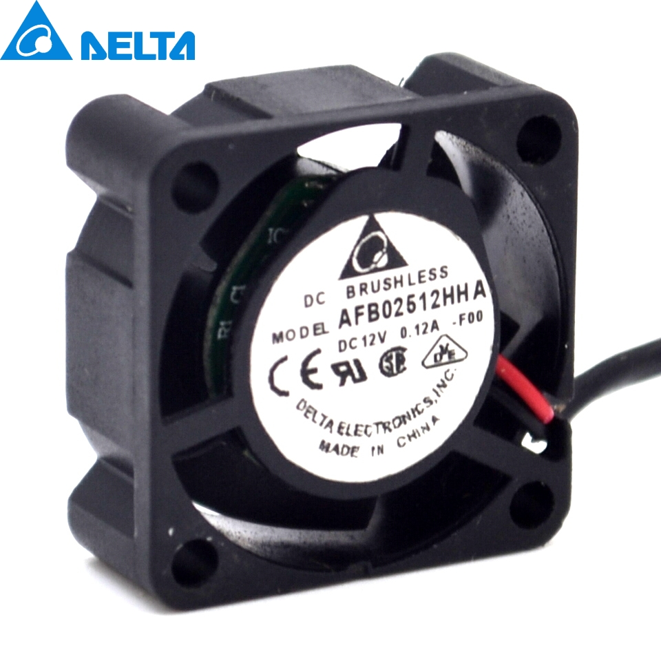Delta   AFB02512HHA 2.5CM 12V 0.12A cooling Fan  For SUN 370-5126 V240 V210 P/N:3705126-01 25x25x10 mm a3c40094788 delta afc0712de 7k1m 38010022 double ball 4 wire pwm12v cooling fan for fujitsu for siemens for primergy rx300 s5 s6