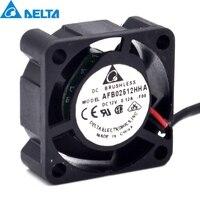 Delta AFB02512HHA 2.5CM 12V 0.12A cooling Fan For SUN 370 5126 V240 V210 P/N:3705126 01 25x25x10 mm