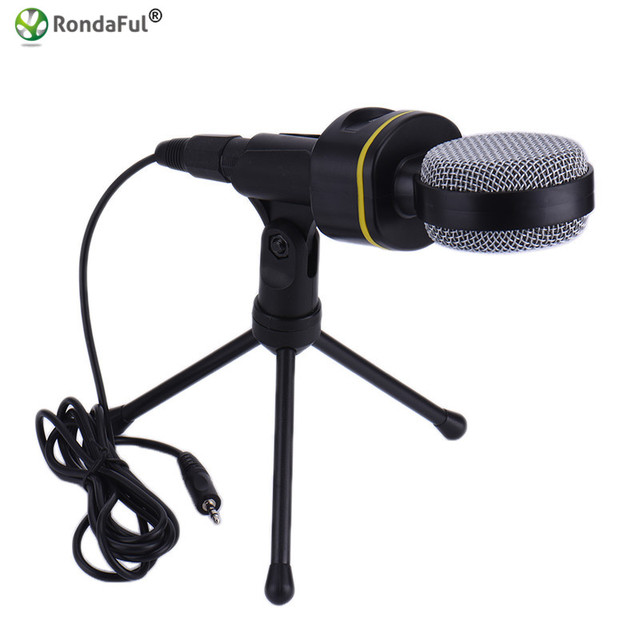 Professional Wired Condenser Microphone With Tripod Stand For Laptop Chatting Online Singing Karaoke Anchor broadcasting SF-930