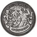 2016 caixa de charme Único. ferreiro álbum moeda replica Russo lembrança Moeda rússia felicidade. cópia moeda de prata de metal titular artesanato