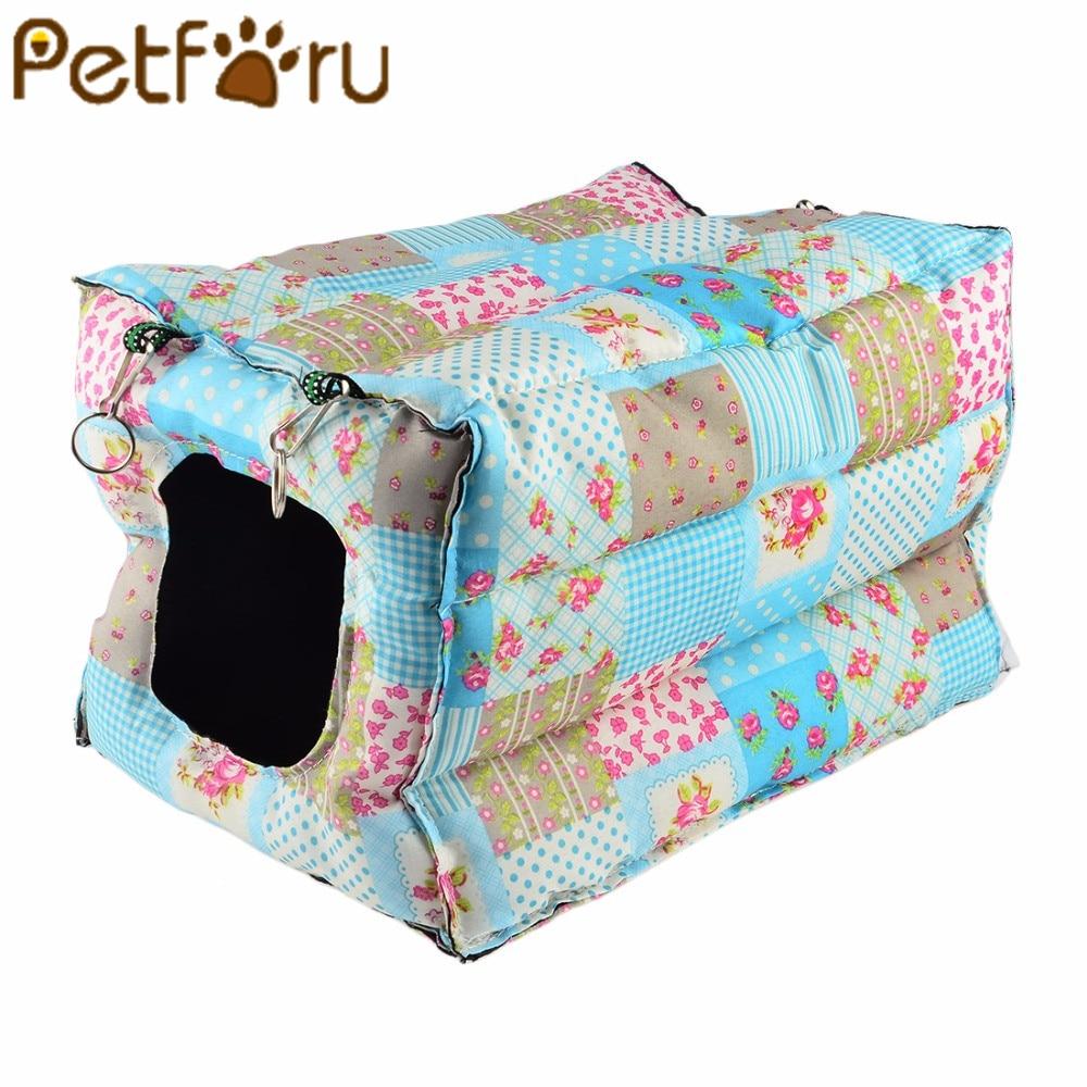 Petforu القط شنقا الدافئة منزل القطن القط - منتجات الحيوانات الأليفة