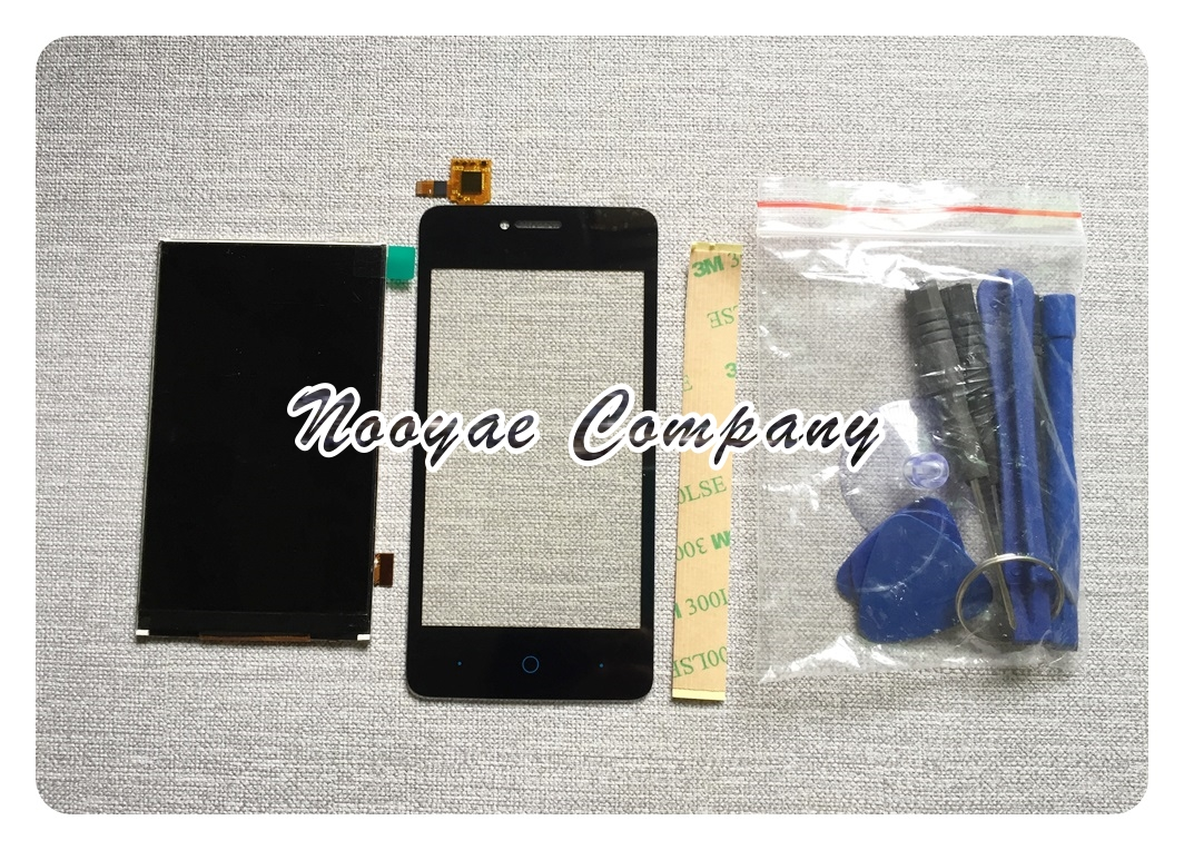 Novaphopat Black Touchscreen For ZTE Blade T221 A5 Pro AF3 LCD Display Screen Touch Sensor Panel Digitizer screen Replacement