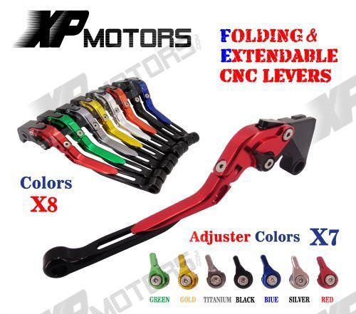 CNC Folding & Extending Brake Clutch Levers For Honda CBR250R CBR300R CBR500R CB300F CB300FA CB500F CB500X CB500 F/X Grom NEW billet new alu long folding adjustable brake clutch levers for honda cbr250r cbr 250 r 11 13 cbr300r 14 cbr500r cb500f x 13 14