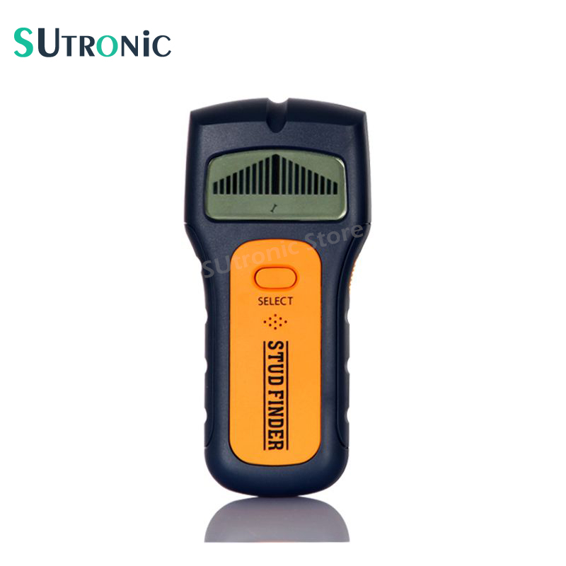 Brand TS79 3 In 1 Stud Finder Wire Metal Wood Detectors Find AC Voltage Live Wire Detect Wall Scanner behind Wall LCD Display multi scanner 3in1 lcd wall stud detector metal voltage cable wood finder portable live wire scanner tool