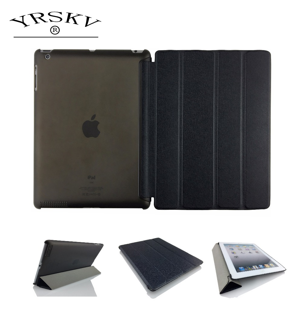 Case for iPad 2 iPad 3 iPad 4 YRSKV Senior silk Smart Case Cover Ultra Slim Designer Tablet PU Leather Cover Tablet Case arrival selling ultra thin super slim sleeve pouch cover microfiber leather tablet sleeve case for ipad pro 10 5 inch