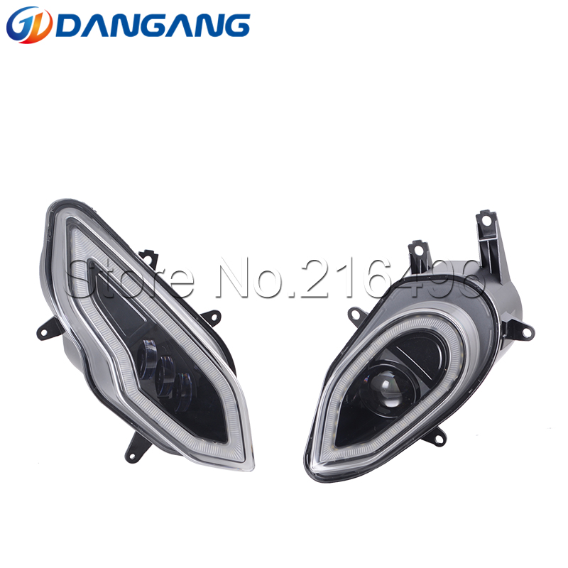 LED Angel Halo Headlight Assembly For B-MW S1000RR 2015-2018