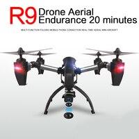 R9 mini drone carbono Fibra aviones rc quadcopter WiFi FPV HD Cámara 200 W/30 W 4 canal 2.4 GHz adultos sin cabeza Modo 2 12-15years
