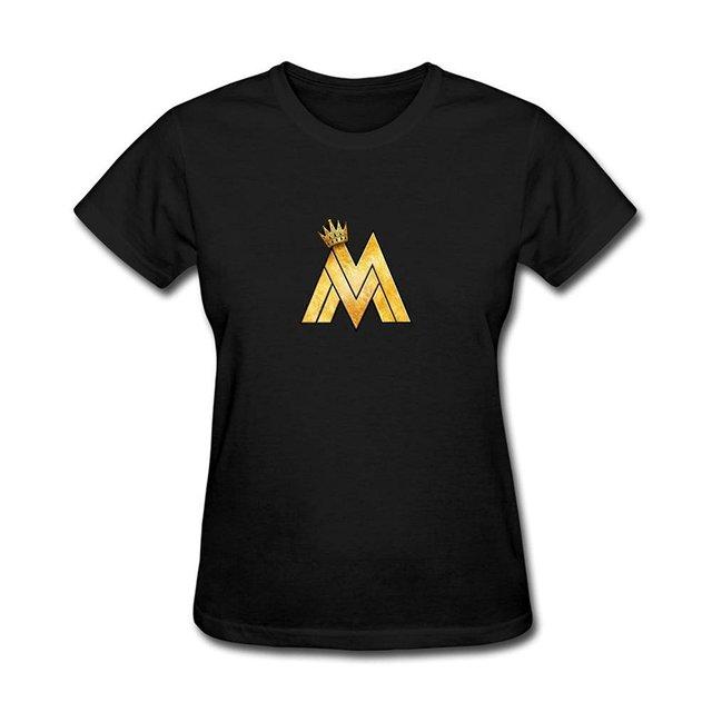 Women's Maluma Reggaeton Singer Logo Short Sleeve T-Shirt XXL