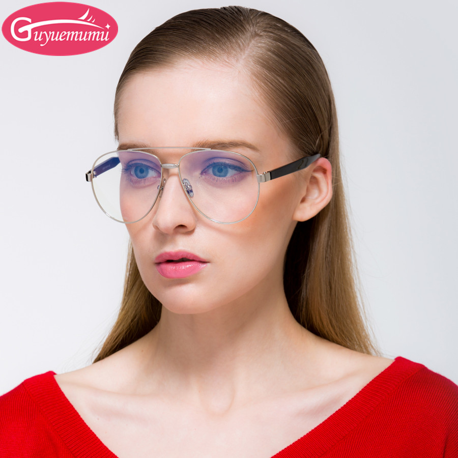 2017 New Korean Fashion Men Eyeglasses Gold Frame Glasses Vintage Glasses Clear Women Eyewear