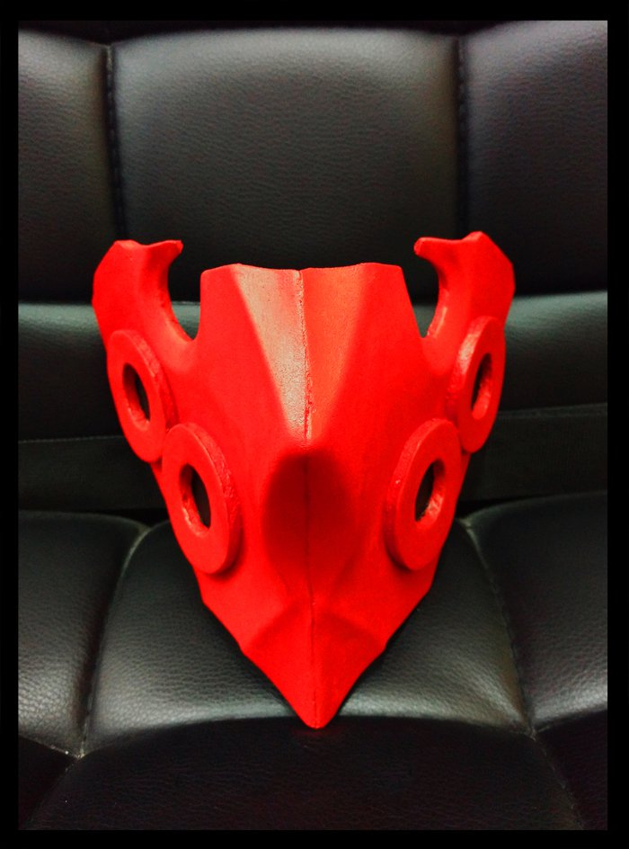 Tokyo Ghoul Tatara Mask The Second IN Command of Aogiri Chi She Lian Mask For Costume Tokyo Ghoul Re Cosplay Props