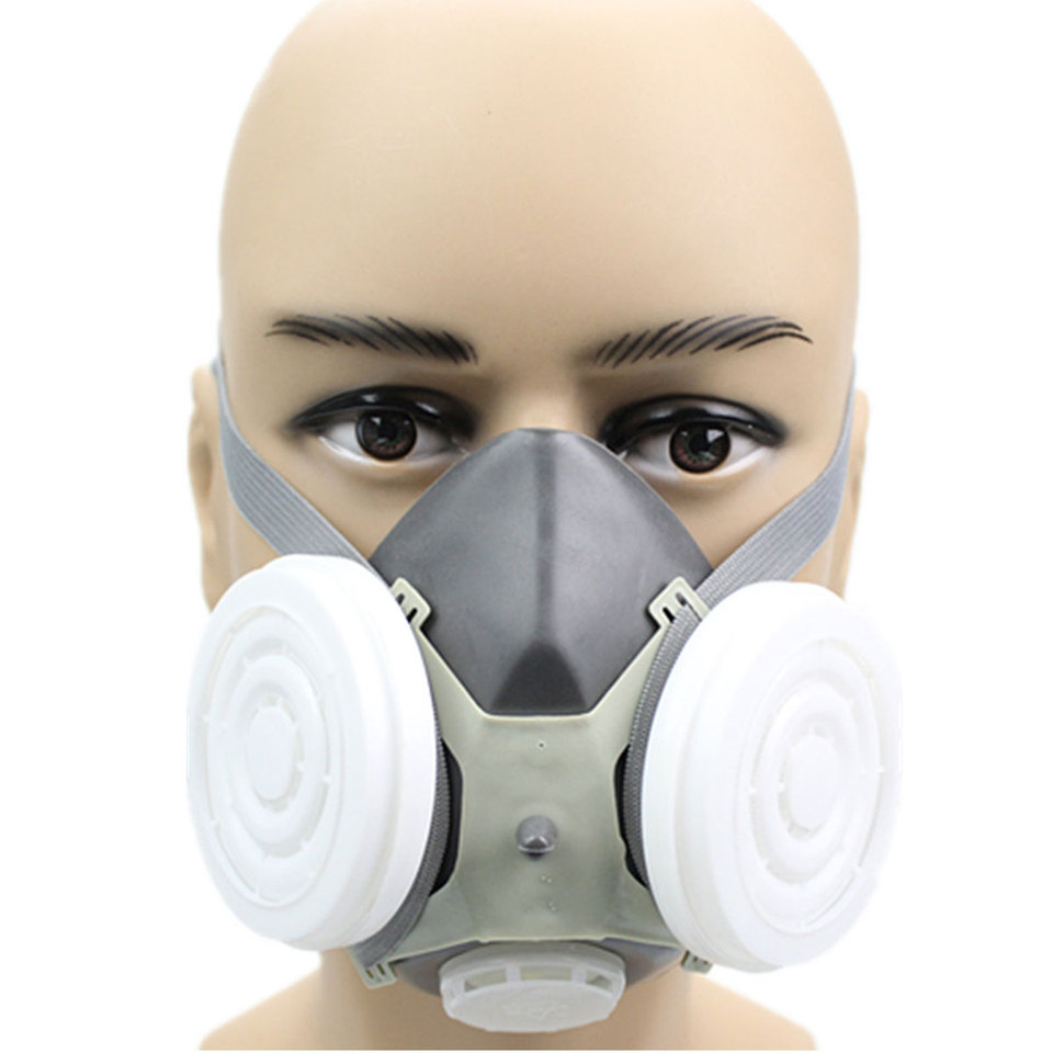 Industrial Pm2 5 Mask Welding Dust Half Smoke Gas Paint Face Anti Paintting Spraying Safety Breathing