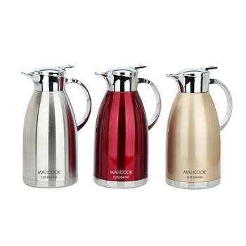 2L Stainless Steel Kettle For Hotel Kitchen Large Capacity Coffee Pot Home Vacuum Insulation Pot