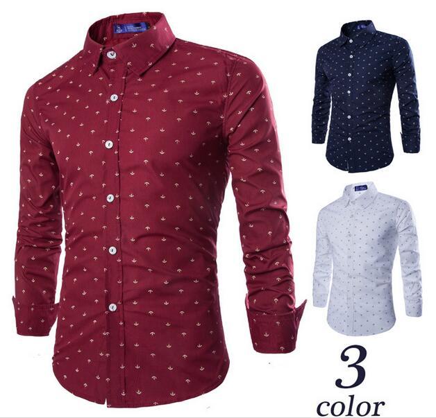 Online Get Cheap Red Polka Dot Shirt Mens -Aliexpress.com ...