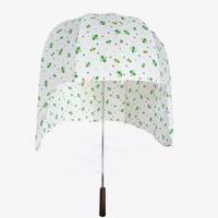Rain Hat Umbrella Kids Boys Creative Yellow Head Sun Umbrella Corporation Corporate Gifts Ombrello Schirm Parasol Cancan 50KO069
