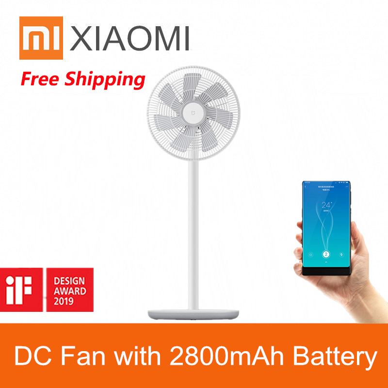 Original Xiaomi Smartmi ZLBPLDS03ZM Fans DC Frequency Conversion Natural Wind Floor Fan With Battery Xiaomi Ecosystem Product-in Fans from Home Appliances    1