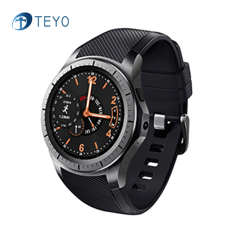 Teyo New Smart Watch GW10 Bluetooth Wifi Heart Rate Monitor Pedometer Waterproof Fitness Tracker Smartwatch for Andriod and IOS wireless heart rate monitor watch smart pedometer fitness tracker for sports