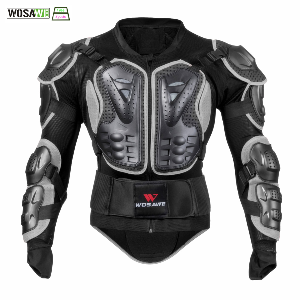 wosawe cycling armor jacket body protection motorcycle turtle jacket racing cycle moto cross. Black Bedroom Furniture Sets. Home Design Ideas