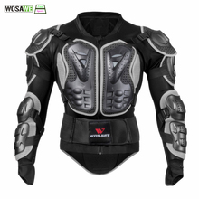 WOSAWE Cycling Armor Jacket Body Protection Motorcycle Turtle Racing Cycle MotoCross Chest Arm Protector