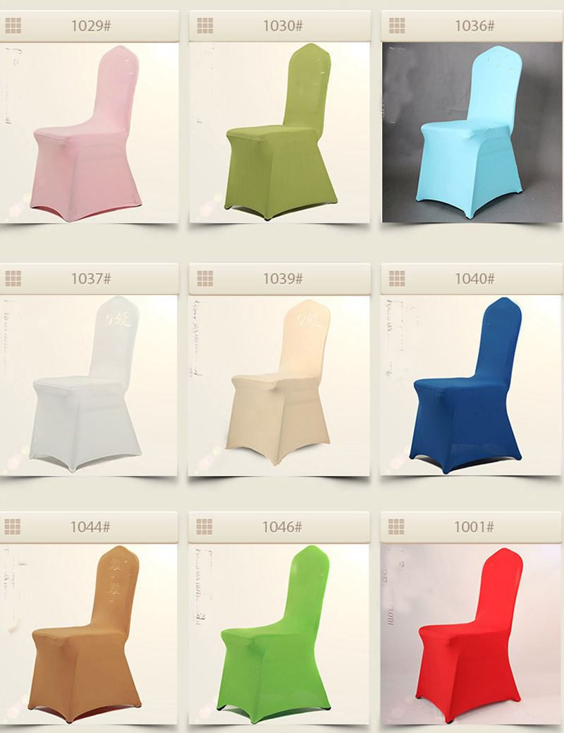 Chair Coverings Us 52 25 5 Off Brand New 8pcs Lot High Quality Elastic Fabric Chair Coverings Wedding Banquet Hotel Stretch Chair Cover Decorations In Chair Cover