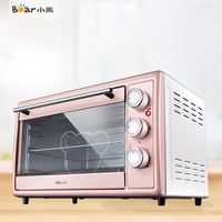Bear DKX B30N1 Multifunction 30L Capacity Electric Home Fully Automatic Baking Cake Oven Knob Control Temperature