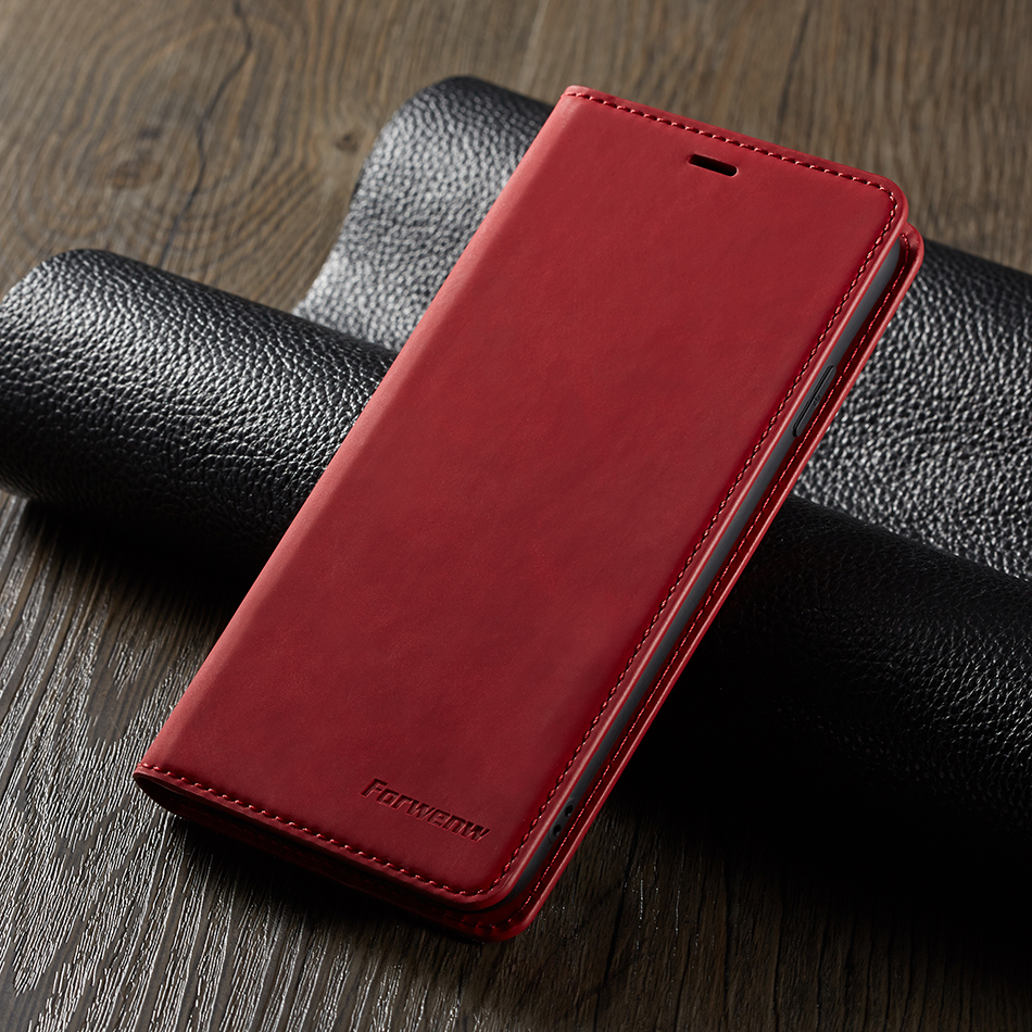 Retro Leather Case For Samsung Galaxy A5 2018 Multi Card Holders Phone Cases For iPhone X Cover For Samsung A6 A7 A8 A750F A600
