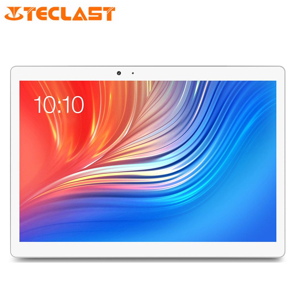 Teclast T20 4G/3G Network Tablet PC 10.1 Inch IPS Fingerprint Unlock Helio X27 Deca Core 4GB ROM 64GB RAM Dual WiFi 13.0MP GPS