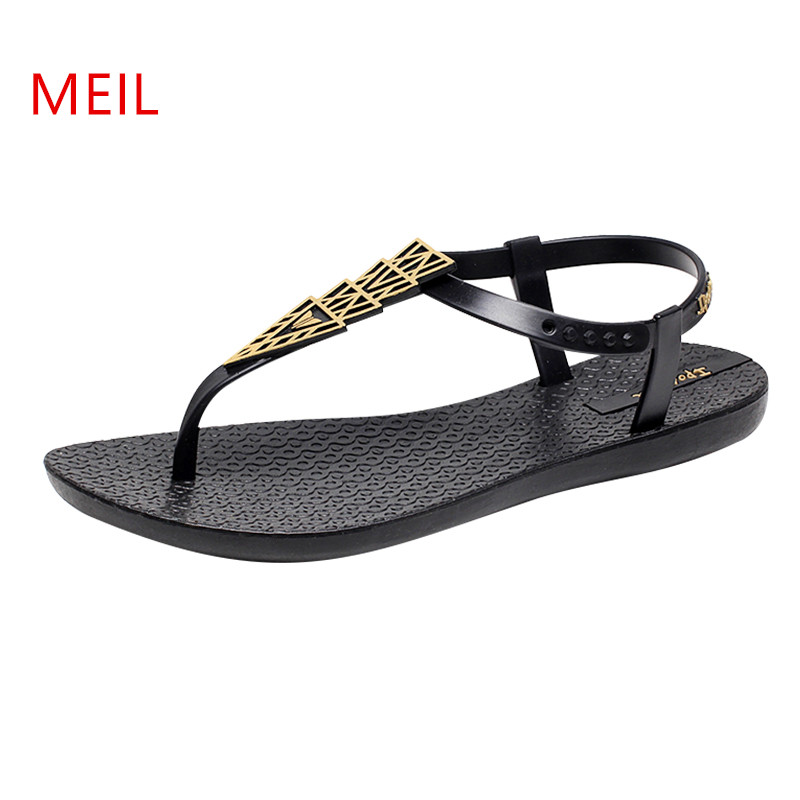 flat leather Sandals Women 2018 Fashion peep toe flat gladiator Sandals women summer shoes Ladies flat Sandals sandalias mujer