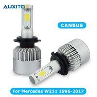 Canbus COB H7 LED Car Headlight Kit 72W 8000LM Auto Front Light No Error H7 Automotive