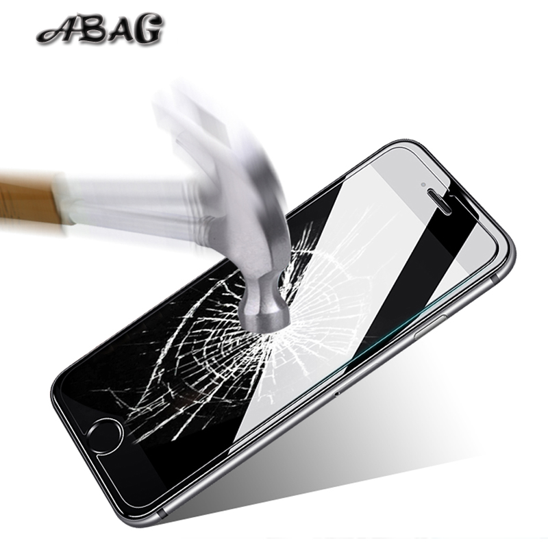 ABAG tempered glass film 9h 2.5d 0.26MM Ultra-thin Screen Protectors for Apple iphone 6 7 8 X 6plus 7plus 8plus 5 5S SE 6 6s