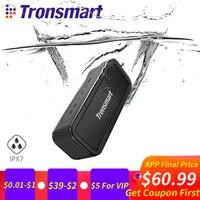 Tronsmart силы Портативный Bluetooth Динамик IPX7 Водонепроницаемый музыка Окружают Открытый Динамик 40 W микрофон Колонка для телефонов