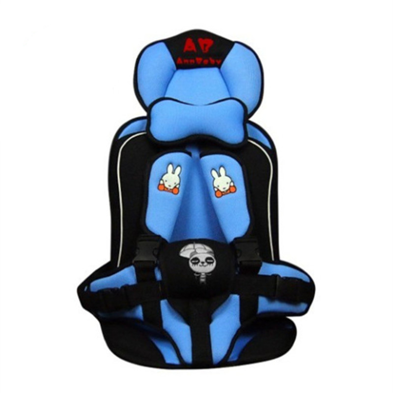 Portable Baby Car Seat ChildrenThickening Set Safety Pad Childrens Chairs In The 1to5 Years Old