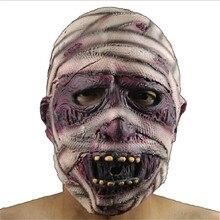 Halloween Bloody Face Off Horror Halloween latex mask macka New Brand Carnival Hallowen Horror Mask High quality  1pc