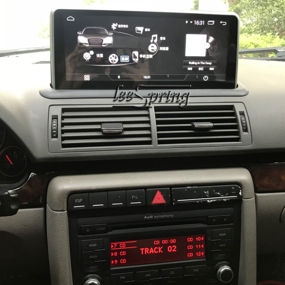 10 25 inch Car Multimedia Player for Audi A4 2005-2007 with GPS Navigation  MP5 Wifi (NO DVD)