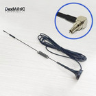 2.4GHz 7dBi High gain Omni WIFI Antenna Magnetic base 3M cable CRC9 Right Angle Connector #1