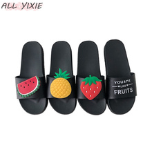 ALL YIXIE 2019 Fashion Women Slippers Summer lovely Ladie Casual Slip On Fruit jelly Beach Flip Flops Slides Female Sandals Shoe