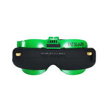 Presale Fatshark Attitude V5 OLED FPV Goggles 5.8Ghz True Diversity RF Support DVR AV-IN/OUT With Battery Case for RC Drone Part