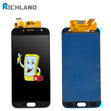 TFT For SAMSUNG GALAXY J7 Pro 2017 J730 J730F SM-J730F LCD Display Touch Screen Digitizer Assembly J730F Can Adjust Brightness original 5 5 for samsung galaxy j7 pro 2017 j730 j730f sm j730f lcd display with touch screen digitizer panel pantalla complete