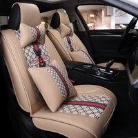 Flax car seat cover auto For Skoda rapid spaceback superb 2 3 2016 2017 yeti