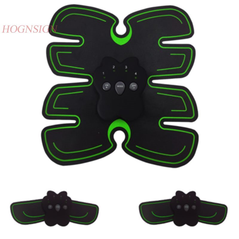 Abdominal fitness exerciser slimming exercise instrument smart fitness instrument lazy electric stimulation muscle shaping abdom