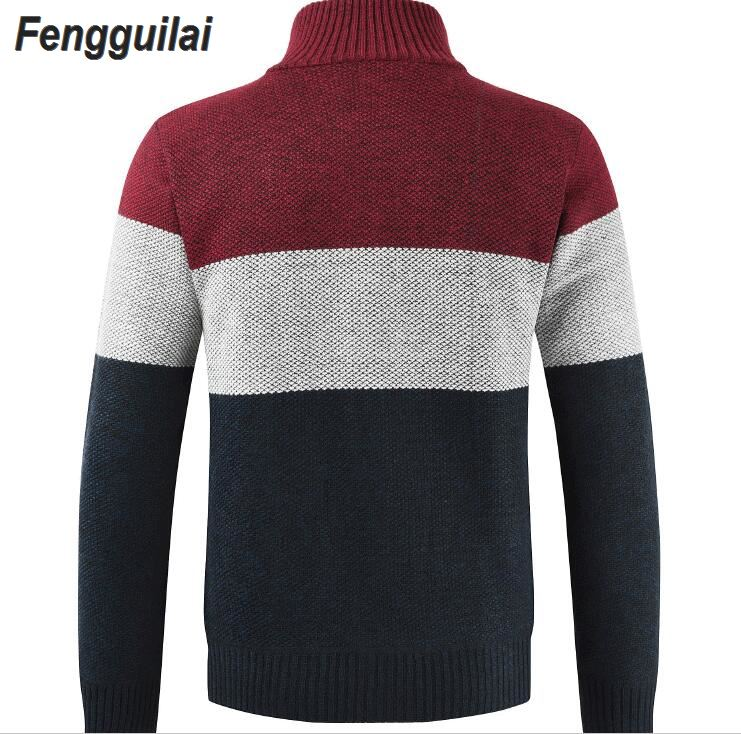 2019 New Jersey knitwear cardigan baseball collar autumn and winter sweater youth loose pure color collar sweater